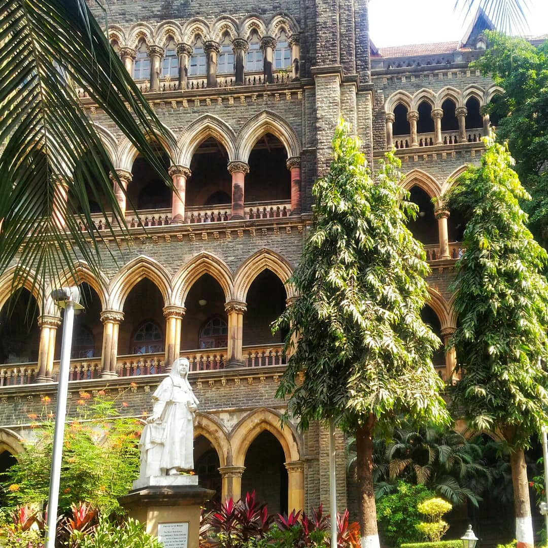 Architectural monuments of the city of India Mumbai Bombay