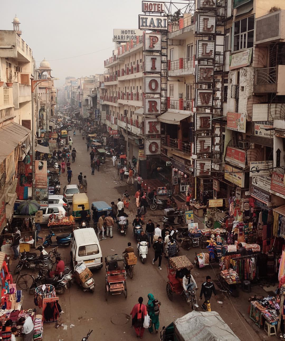 посвящена этому улицы дели фото опасные для людей